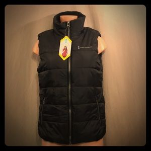 Free Country Ultrafill Puffer Vest Black M Hiking